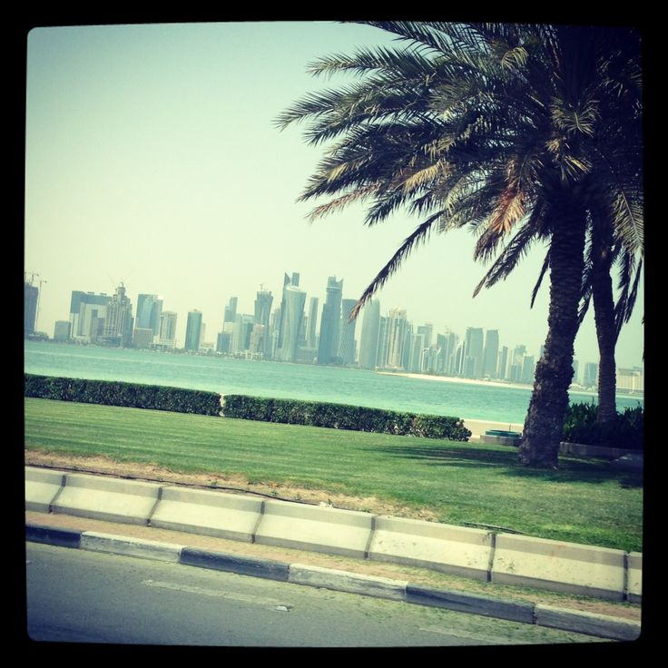 Driving to Doha airport