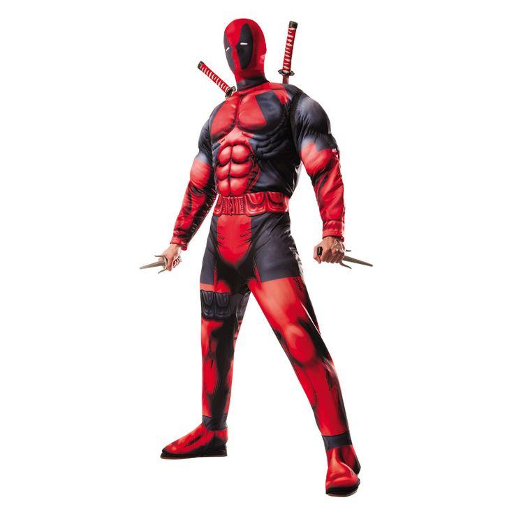 Disfraz de Deadpool Deluxe - Marvel® #carnaval #novedades2016