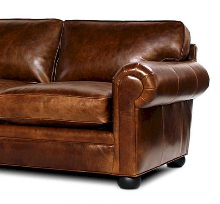Sedona (Lancaster) Oversized Leather Sofa Set .
