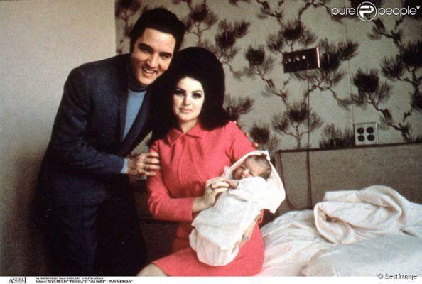 Young Priscilla Presley And Elvis