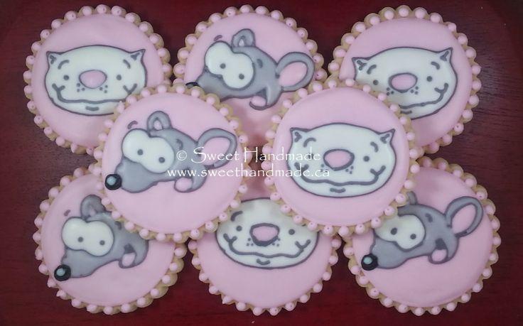Sweet Handmade Cookies - Toopy and Binoo cookies.