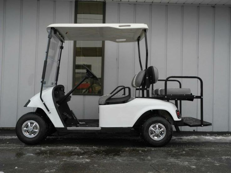 This 2000 E Z Go Pds Electric Golf Car Features Brand New