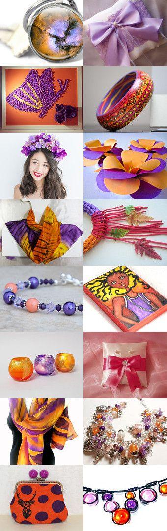 Purple Dreams by HelenaErmakova on Etsy--Pinned+with+TreasuryPin.com