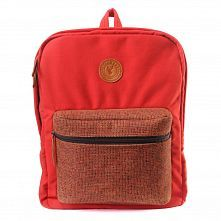 Evrawood Sidney Backpack Red Terracotta