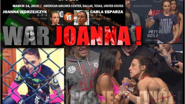 War Joanna ! UFC Fight TONIGHT. Joanna Jedrzejczyk vs Carla Esparza. #mma #ufc