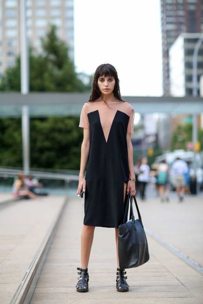 The Best Of Street Style At The S S 2015 Shows Fashion