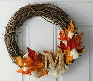 Nice fall wreath