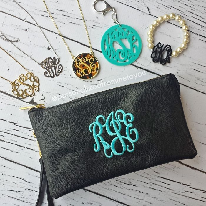 monograms for days!