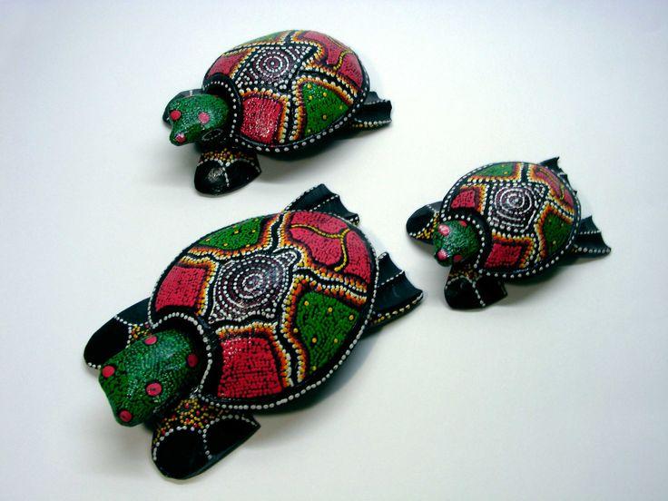 Ceniceros con forma de tortuga