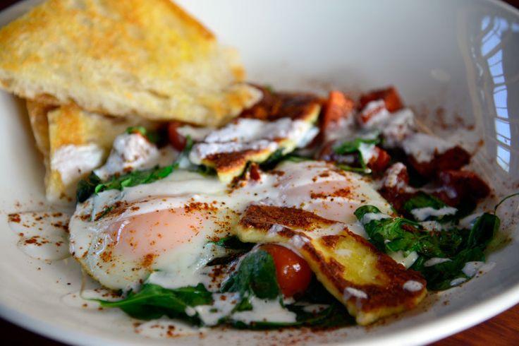 Plenty West End breakfast plate