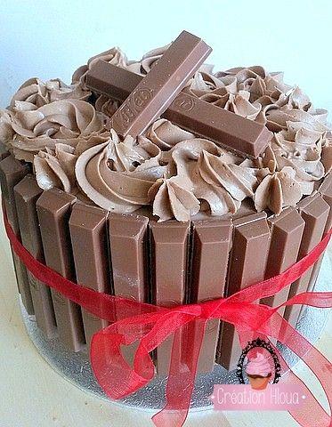Gâteau kit kat