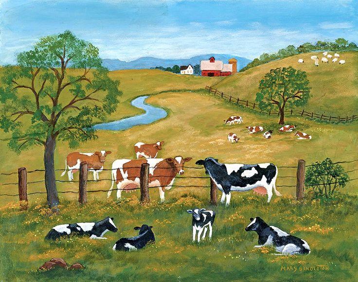 Mary Singleton / LANG Folk Art / June 2016