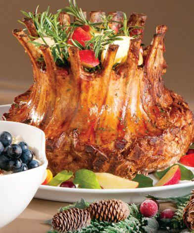 Jacqueline Henriquez, Chef Food Styling - República Dominicana. Corona de cerdo navidenia