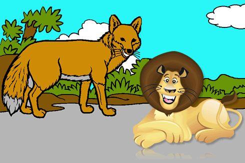 La zorra que nunca había visto un león http://www.encuentos.com/fabulas/la-zorra-que-nunca-habia-visto-un-leon/
