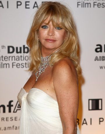 Goldie Hawn as Mrs. Robinson?