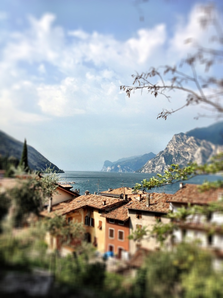 Torbole sul Garda. One of the best ways to explore the Dolomites and the Lago de Garda region, is by bike. Find out more about our guided cycling trips here: http://www.discoverfrance.com/italy/guided/dolomites-to-lago-di-garda-guided