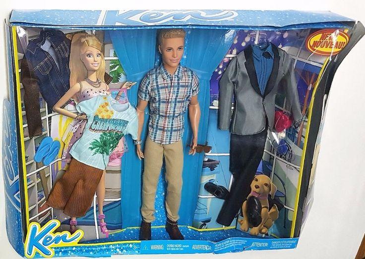 Mattel Barbie s Ken Doll & California Fashion Pack Set    eBay
