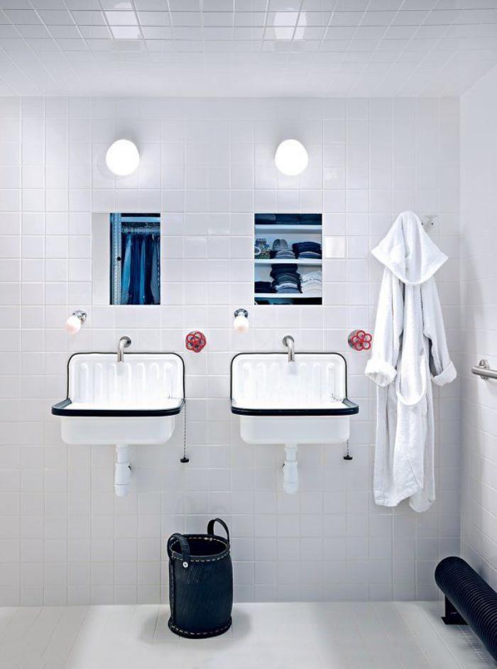 la salle de bain scandinave en 40 photos inspirantes - Salle De Bain Inspiration Scandinave
