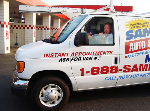 Mike Bakos is one of Sameday's expert auto scratch and dent repair technicians. Mike delivers mobile dent repair, bumper restoration, paint scratch repair, alloy wheel repair, and premium leather rejuvenation services to the Portland Metro area.   Repairing Dents with Mobile Paintless Dent Removal - http://www.carcos.co.uk/services/mobile-paintless-dent-removal