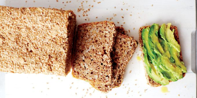 I Quit Sugar - Spelt Brown Rice Bread with Sesame by At Home in the Whole Food Kitchen