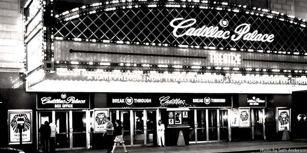 The Cadillac Palace Theater Chicago IL