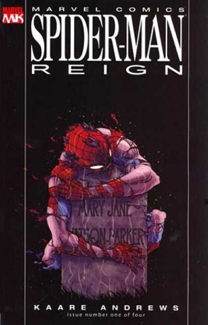 Spider-Man Reign Super Comics - Mary Jane - Kaare Andrews - Issue Number One Of Four - Marvel