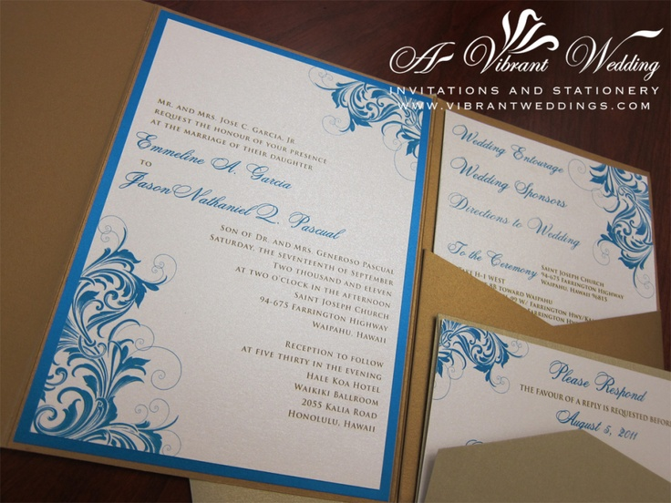 Posts About Turquoise Wedding Invitation On A Vibrant