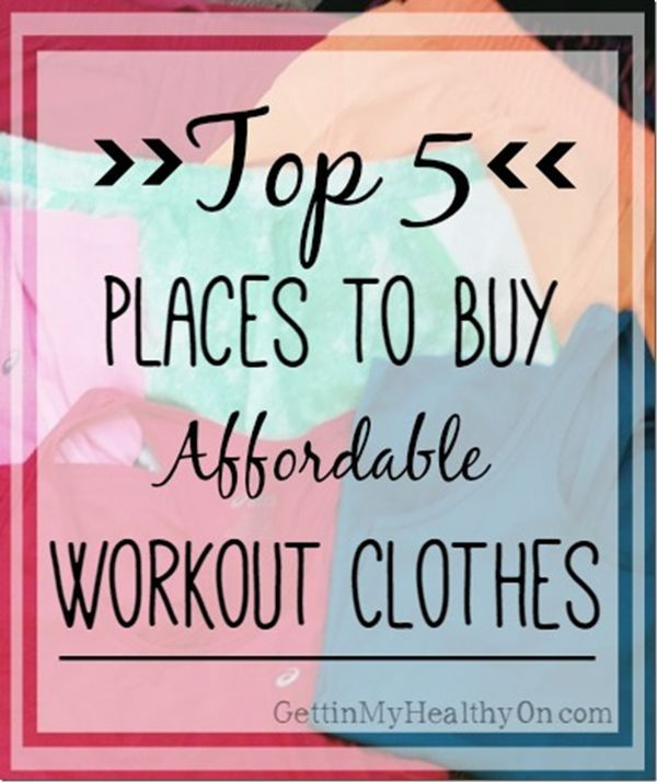The best places to buy women's workout clothes (whether you use them for fitness...or just lounging around)