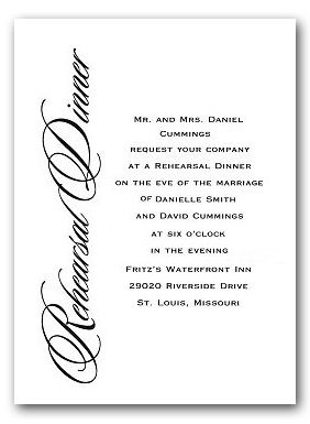 Rehearsal Dinner Invitation Wording   Google Search  Gala Invitation Wording