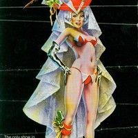 Grant Philipo's Las Vegas Showgirl Museum Donn Arden's Lido De Paris 1978