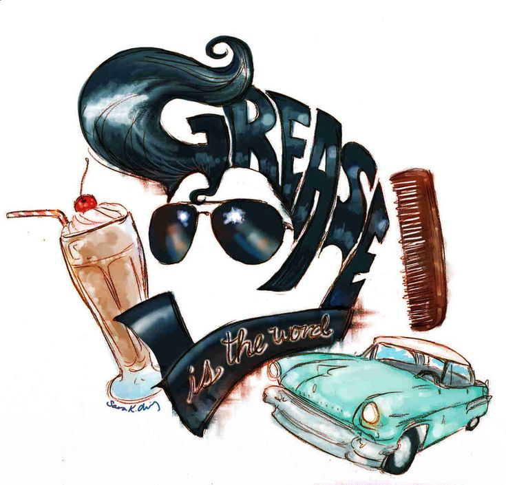 Grease Logo by Kumu18.deviantart.com on @deviantART