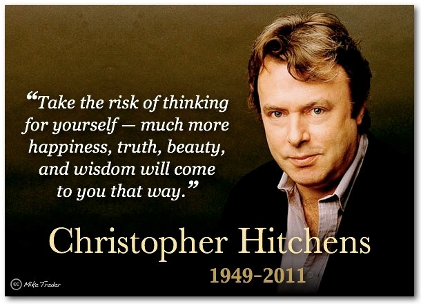 christopher hitchens atheist essays A christian response to christopher hitchens  a brief response to christopher hitchens' god  the bible are near the center of hitchens' atheism,.