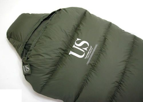 US Military Extreme Cold Sleeping Bag Camping Hiking Goose Down High Quality