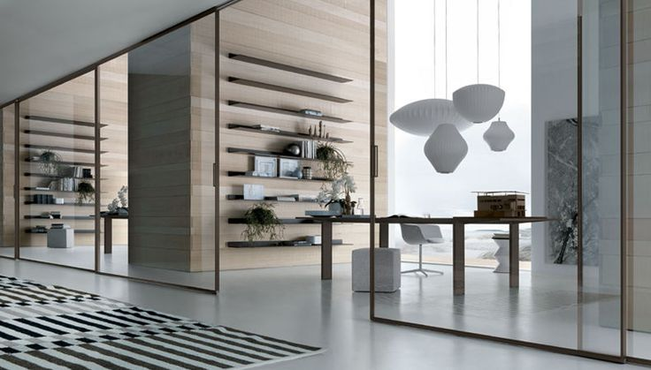 Rimadesio S Quot Velaria Quot Sliding Door Systems Add An Elegant