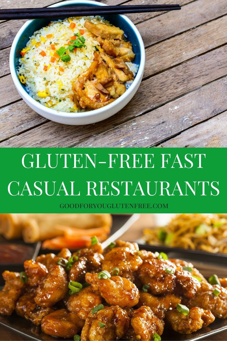 Click on the image to link to my list of the top fast casual (and fast food) restaurants that accommodate a gluten-free diet #goodforyouglutenfree