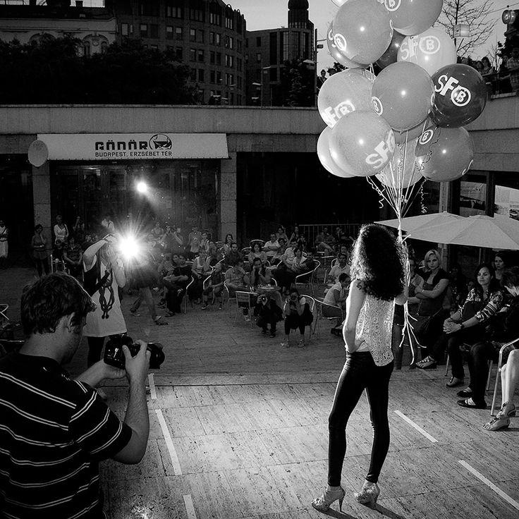 Fashion show moment… Fallow Me street fashion show 2011 / Photo: ©Budapest Backstage - HFCC / Gabor Vanicsek #BudapestBackstage #BudapestFashion #Budapest #Hungary #hungarianfashion #hungariandesigner #fashion #fashinmoment #fashionshow #fashionshowmoment #fashiondesigner #fashionstory #fashionhistory #womensfashion #womenswear #runway #catwalk #backstagemoments #blackandwhite #MagyarDivat #magyardivattervezo #GaborVanicsek #HFCC