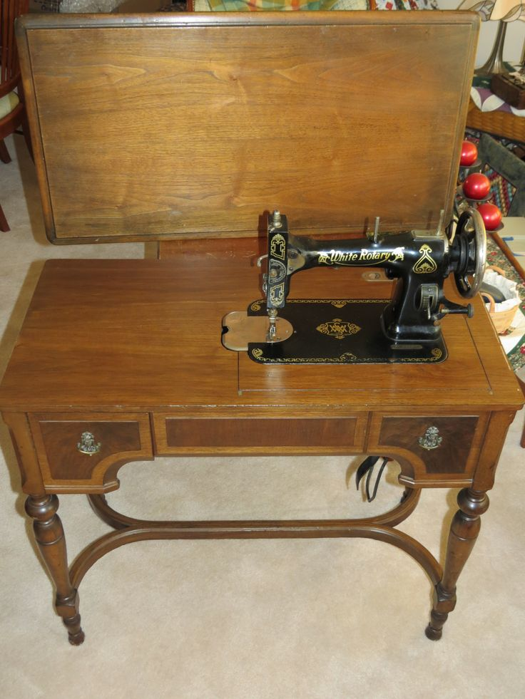 110 best Vintage White Sewing Machines images on Pinterest | White ...