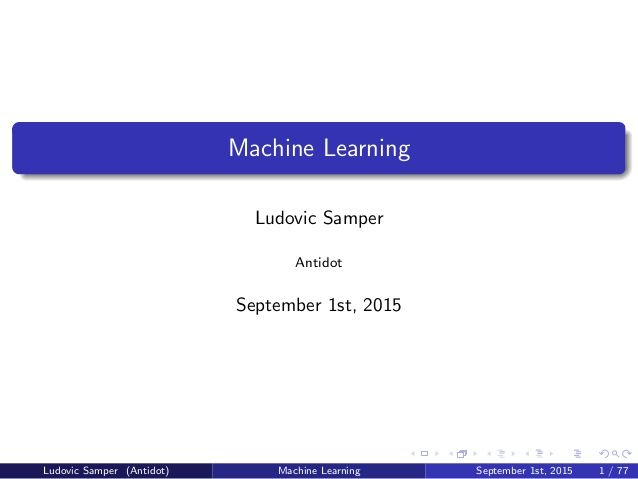 best schools for machine learning