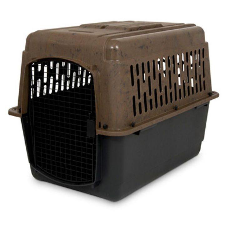Ruff Maxx Plastic Dog Crate Kennel, Size: Medium - 36L x 25W x 27H in. (50 - 70 lbs.)