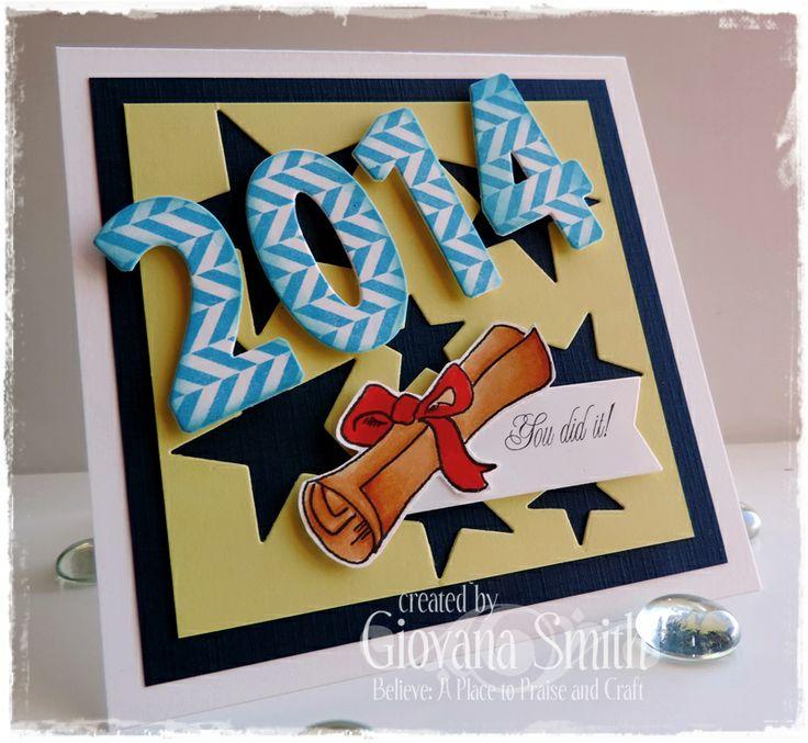Attractive Card Making Ideas Graduation Part - 8: Sweet U0027n Sassy Stamps: Graduation Digital Set, Number And Star Dies. Graduation  CardsGraduation IdeasAtc ...