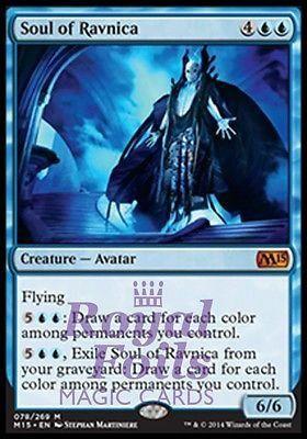 **1x FOIL Soul of Ravnica** MTG M15 Core Set Mythic MINT blue avatar