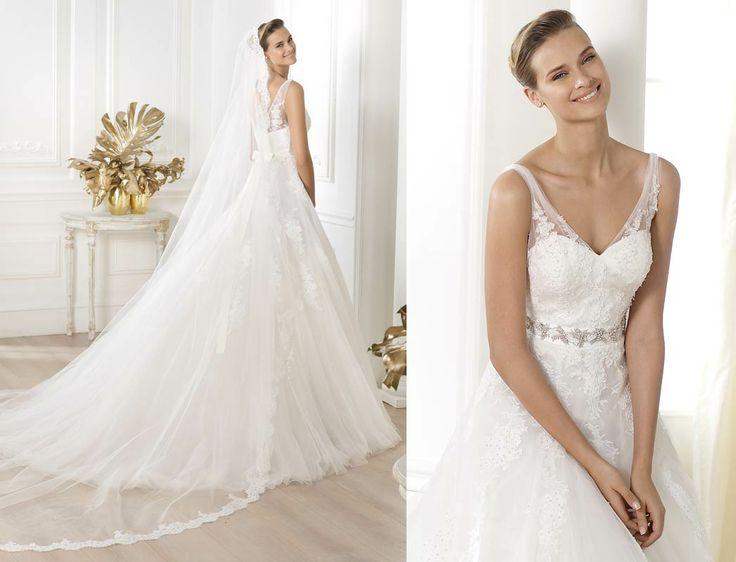 17 best images about pronovias wedding dresses on for Wedding dresses spanish designer