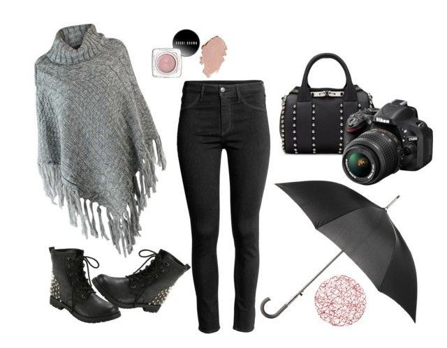 """autumn image"" by shushkova784 on Polyvore featuring мода, Hot Topic, Alexander Wang, Totes и Nikon"