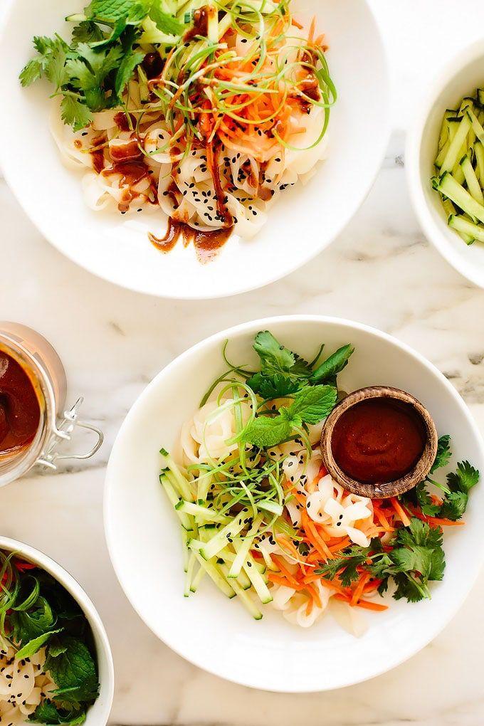 Vegan Summer Roll Noodles Recipe Vegetarian Recipes Healthy