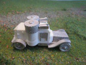 Austin series 3 (Russian Issue) Armoured Car