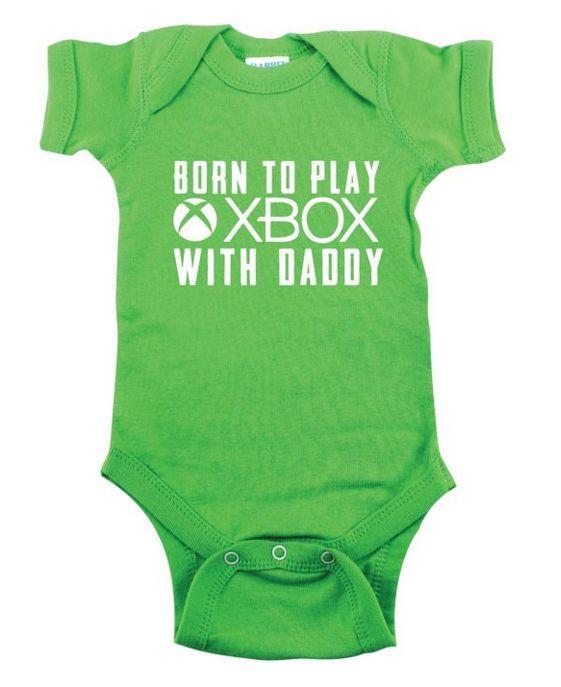 XBOX Funny Baby Onesie
