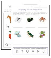 Check out our collection of printable phonics worksheets for kids. So far you can see we have a variety of sets of worksheets that deal with beginning sounds and rhyming and  more.