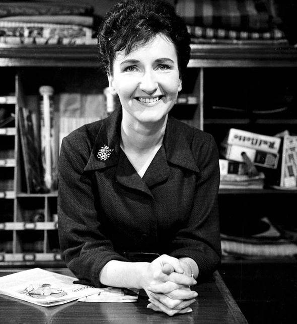 Eileen Derbyshire on Coronation Street in 1965