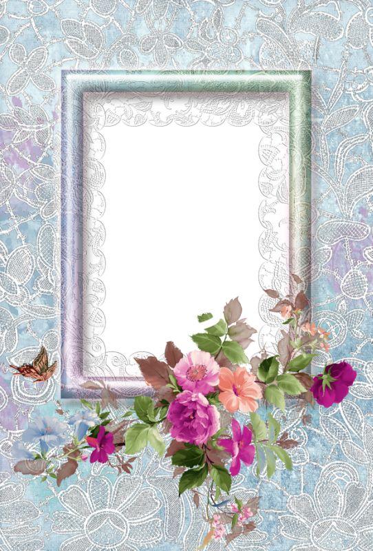 encaje floral