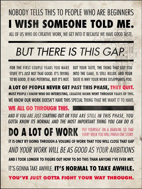 via iDoneThis blog: The Gap, Words Of Wisdom, Remember This, Quote, I Wish, So True, The Games, Ira Glasses, Thegap